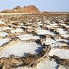 danakil depression - salt flats