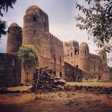 There be castles in Ethiopia. This 17th c. one: Fasiladas' Palace in Gondar. I'm fast realizing I knew little of the depth of this country's history. via Instagram http://ift.tt/1lzMDQn