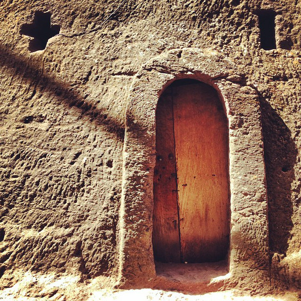 Lalibela Doorway, Ethoipia