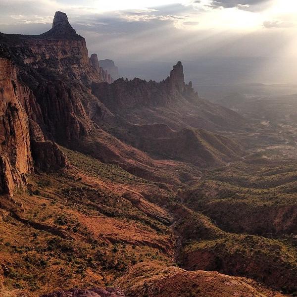 Gheralta Mountains of Ethopia