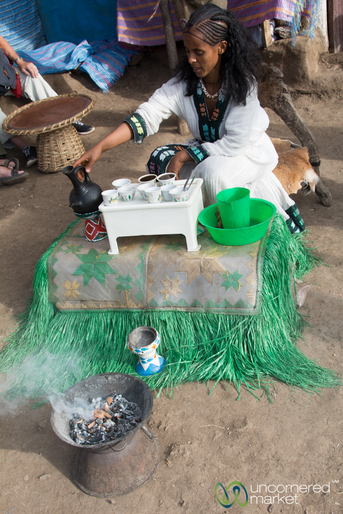 Ethiopian Coffee Ceremony - Lalibela, Ethiopia
