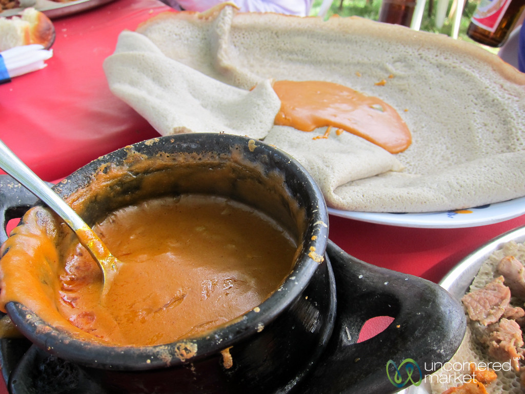 Shiro (Chickpea Flour Stew), Ethiopian Food - Bahir Dar, Ethiopia