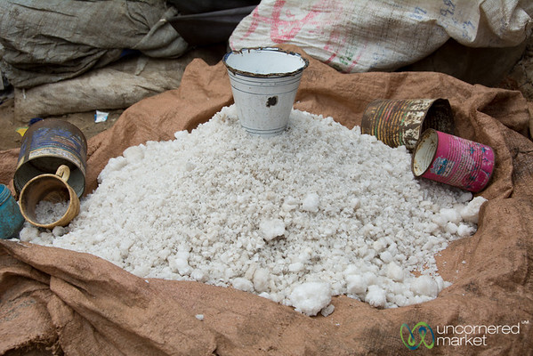 Salt for Sale at Debark Market - Ethiopia