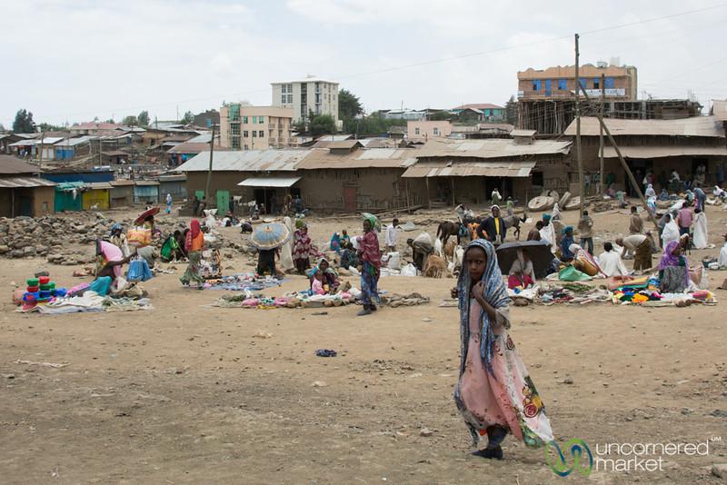 Debark Market Scene - Ethiopia