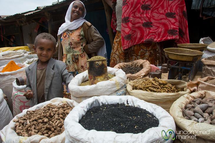 Debark Market Day - Ethiopia
