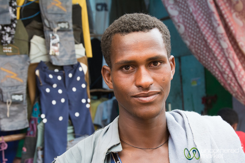 Friendly Face at the Gondar Market - Ethiopia