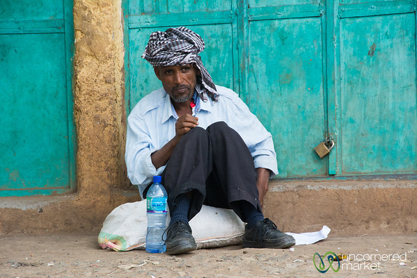 Ethiopian Man at the Gondar Market - Ethiopia