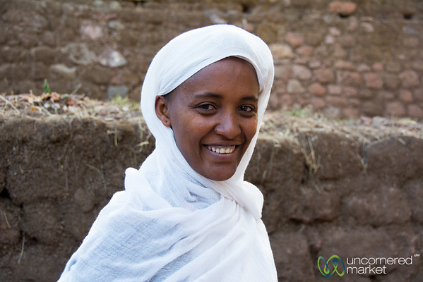 Young Mother at Lalibela, Ethiopia