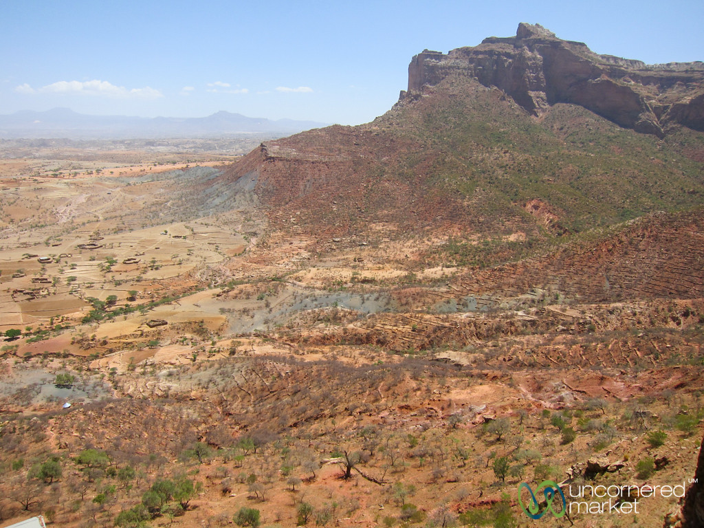 Red Rocks and Landscape of Gheralta Mountains - Tigray, Ethiopia