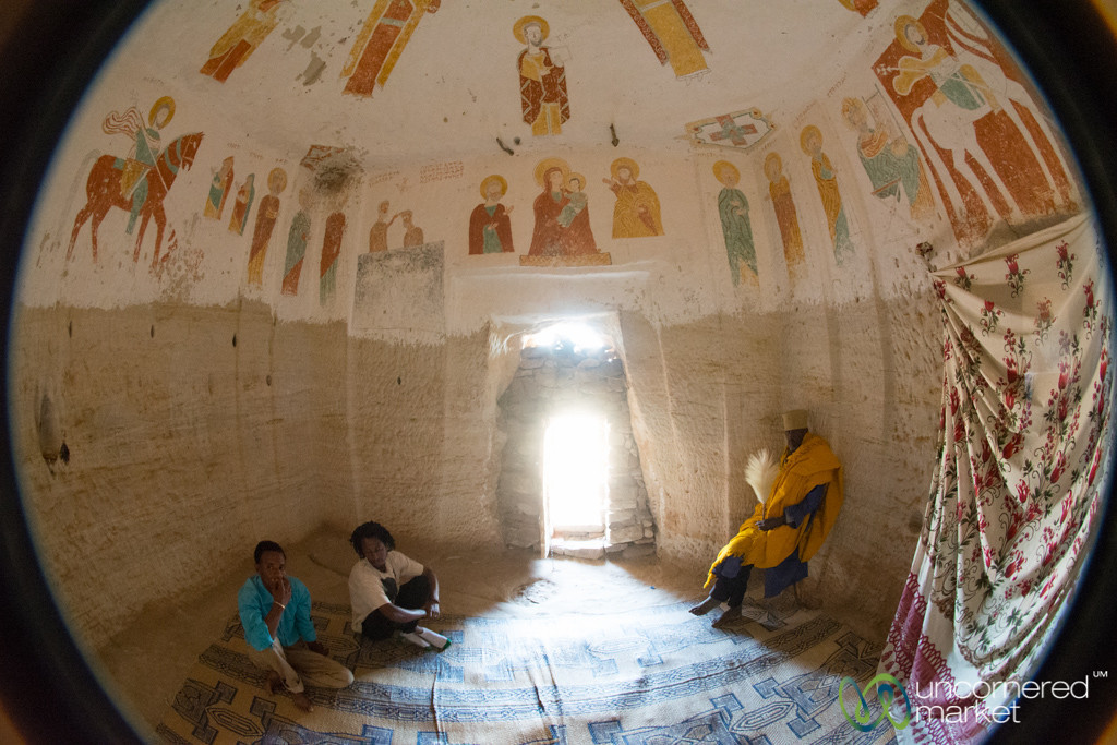 Daniel Korkor Cave Church in the Gheralta Mountains of Tigray, Ethiopia