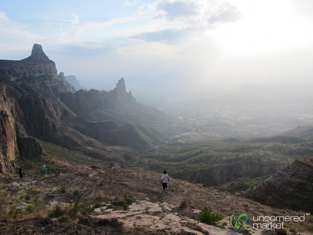 Hiking in the Gheralta Mountains - Tigray, Ethiopia