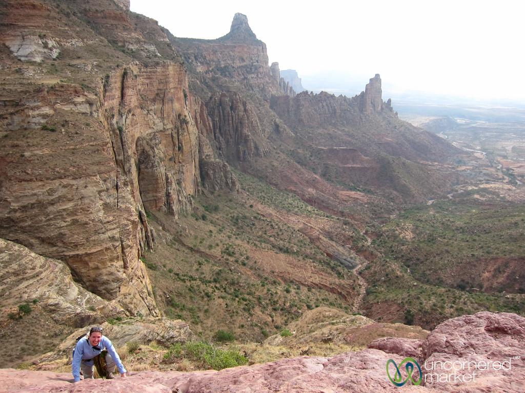 Climbing in the Gheralta Mountains - Tigray, Ethiopia