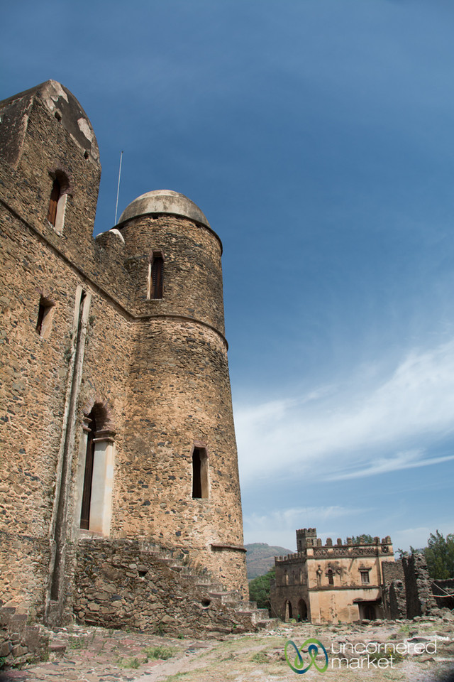 King Fasiladas' Castle in Gondar, Ethiopia