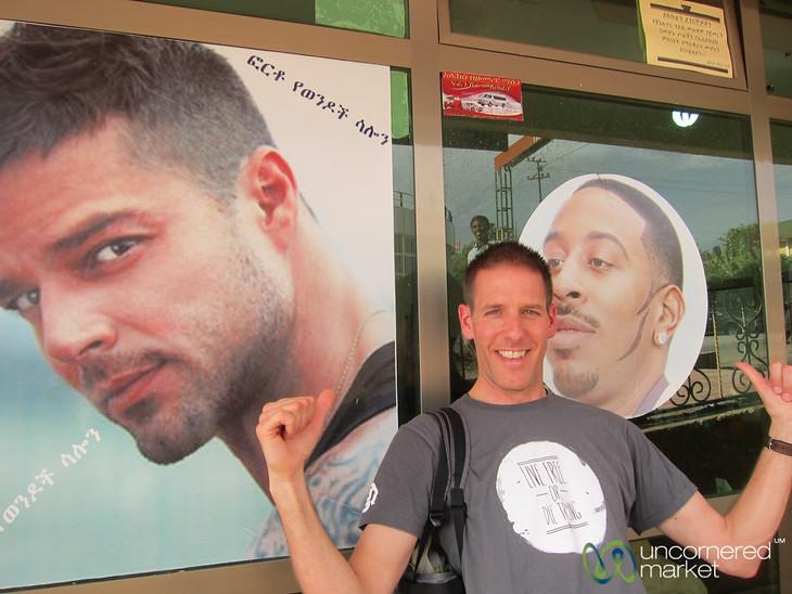 Dan's Ethiopian Haircut - Gondar, Ethiopia