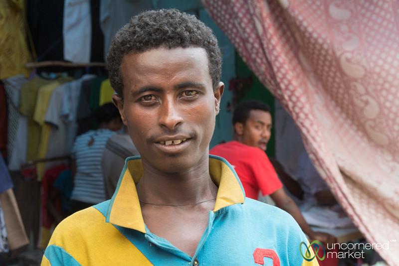 Ethiopian Man at Gondar Market