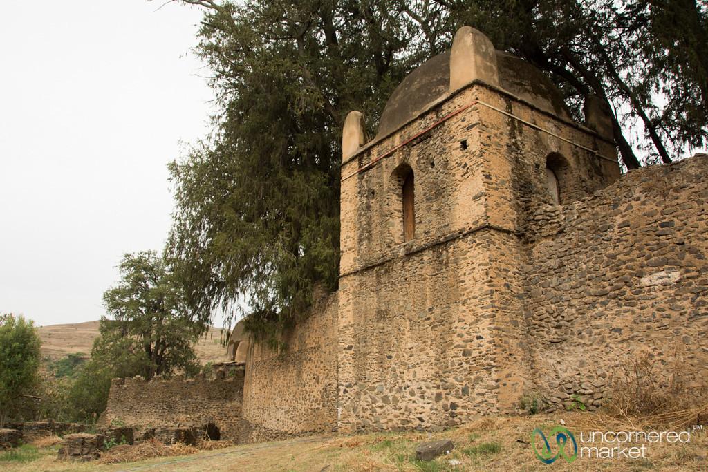 Kusquam, Queen Mentawab's 18th century Residence - Gondar, Ethiopia