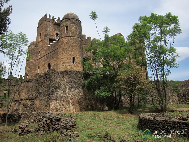 King Fasiladas' Castle in Gondar, Ethiopia