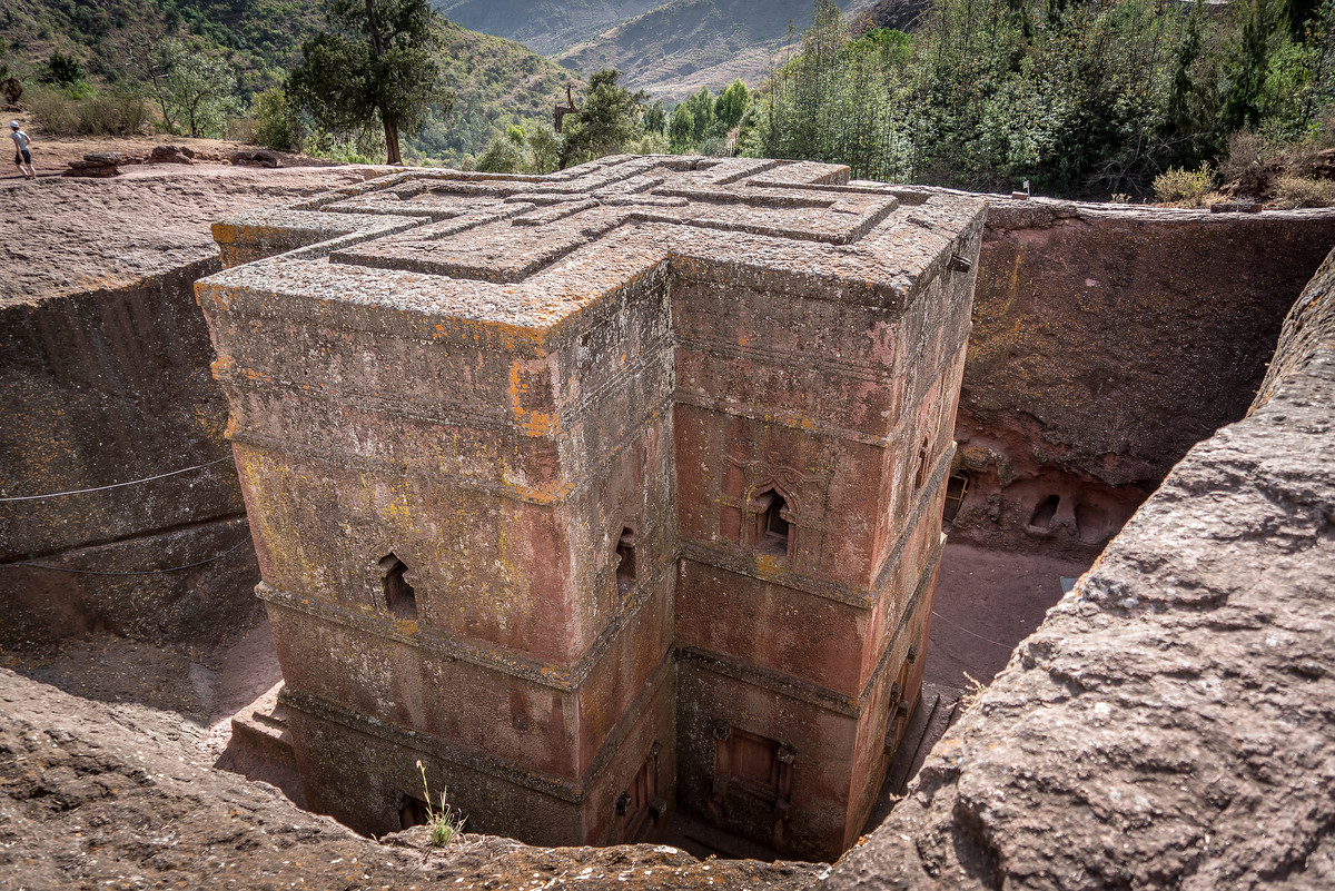 Church of St George in Lalibela, Ethiopia
