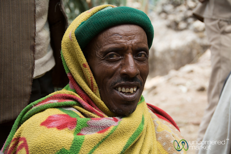 Ethiopian Man, Wedding Preparation - Lalibela, Ethiopia