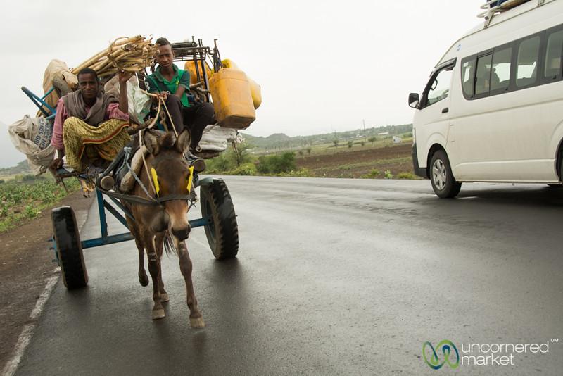 Overloaded Horsecart