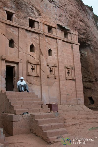 Bet Amanuel (Emanuel Church) in Lalibela, Ethiopia