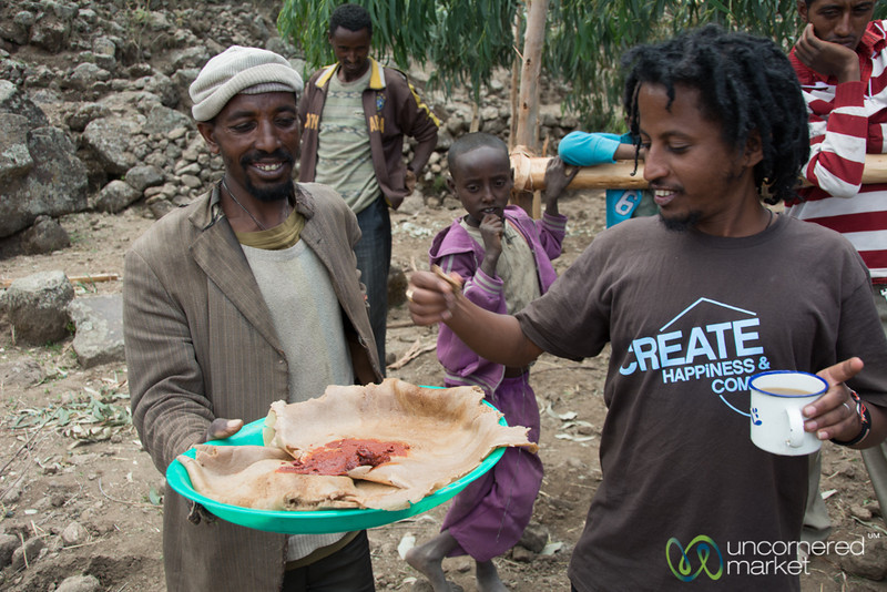 An Ethiopian Welcome, Injera and Berbere - Lalibela, Ethiopia