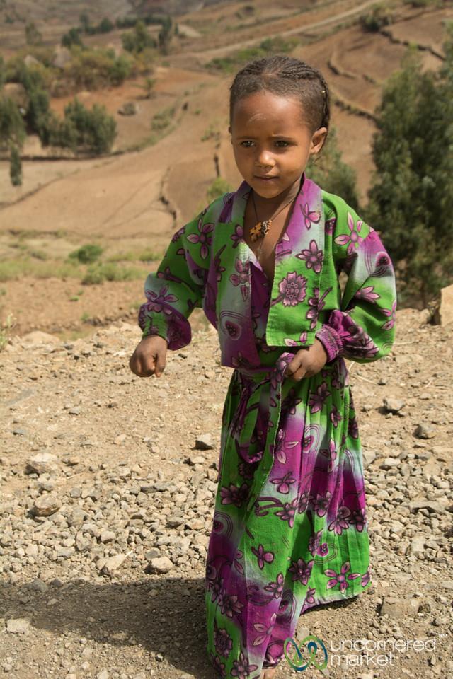 Young Ethiopian Girl - Lalibela, Ethiopia