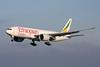 """ET-APS Boeing 777-F6N """"Ethiopian Airlines"""" c/n 41846 Liege/EBLG/LGG 22-01-14"""