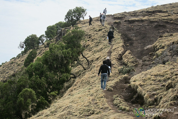 Hiking in the Simien Mountains - Northern Ethiopia