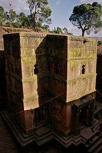 The churches of Lalibela...