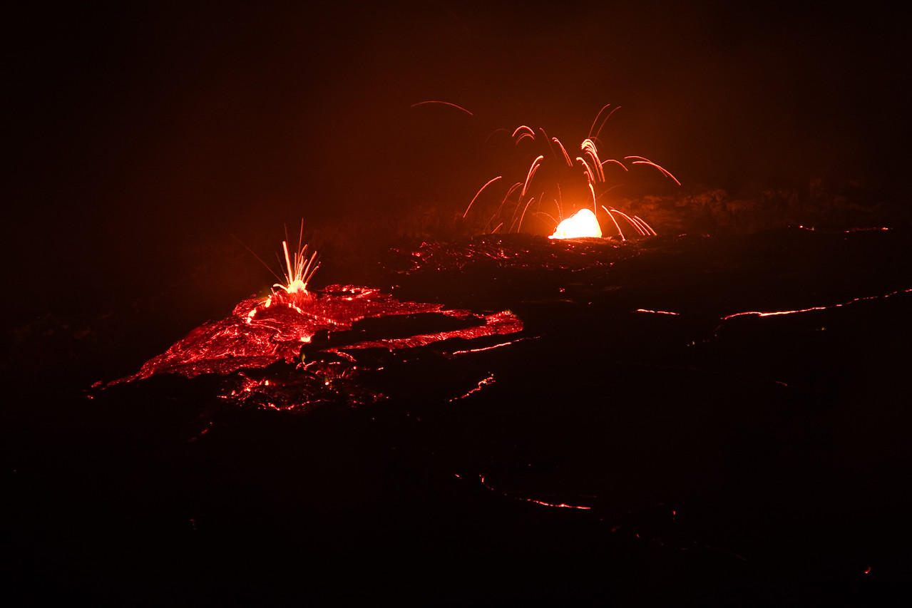 The main lava lake of the volcano.<br /> <br /> Location: Erta Ale volcano, Denakil Depression, Ethiopia<br /> <br /> Lens used: 24-105mm f4.0 IS
