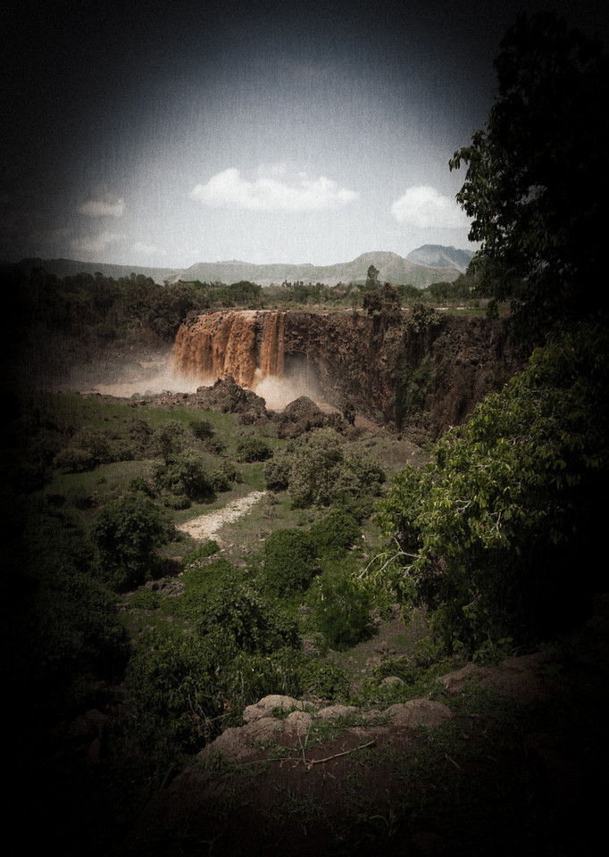 The Blue Nile Falls.<br /> <br /> Location: Near Bahir Dar, Ethiopia<br /> <br /> Lens used: 10-22mm f3.5-4.5
