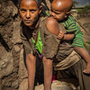 Young Woman and Her Baby, Lalibela, Ethopia