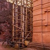 Rock Wall and Hewn Church, Lalibela, Ethopia