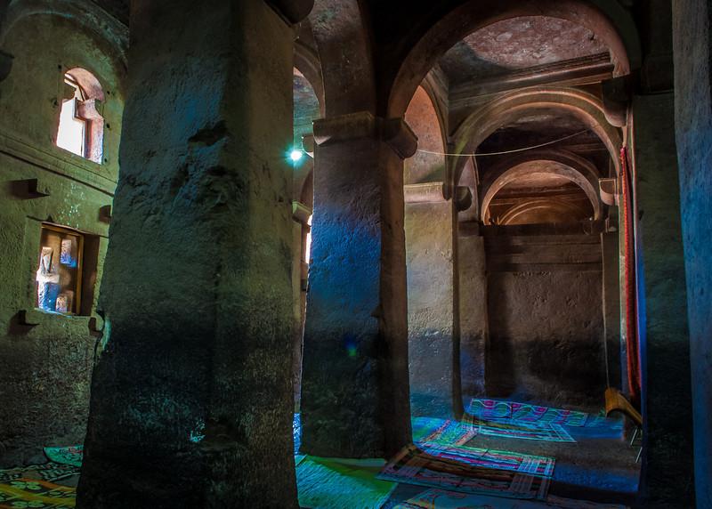 Rock Hewn Churches of Lalibela, Ethopia - circa 1100 AD