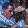 Praying, Lalibela, Ethopia