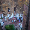 Rock Hewn Churches of Lalibela, Ethopia - circa 1100 AD