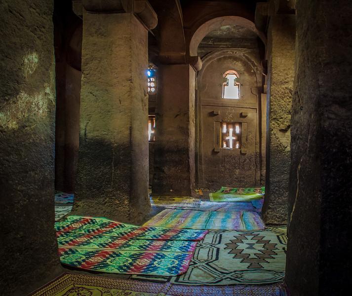 Lalibela Ethiopia Rock Hewn Church