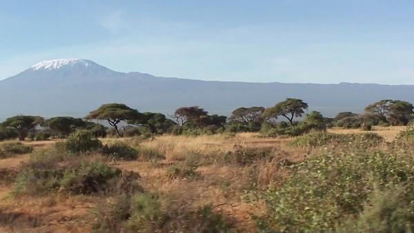 Bidding farewell to Mt. Kilimanjaro