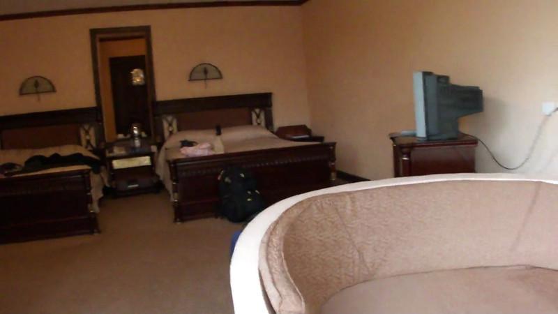 Our room at the Sopa Lodge in Lake Naivasha