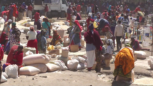 Market Day outside of Arusha, Tanzania