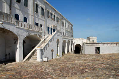 Cape Coast Castle...