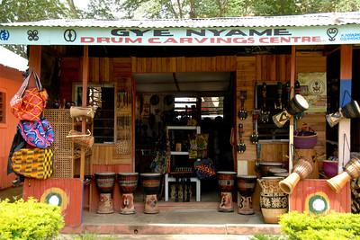 The Kumasi Cultural Center....