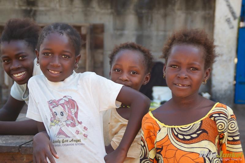 Children in Brufut