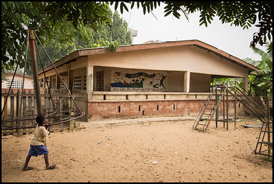 The school in Busua