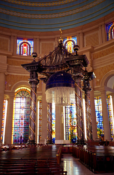 Notre Dame de la Paix, Yamoussoukro, Cote d'Ivoire