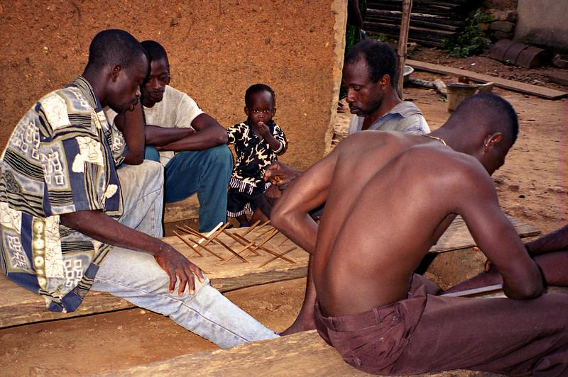 Stick game, Kpalime, Togo