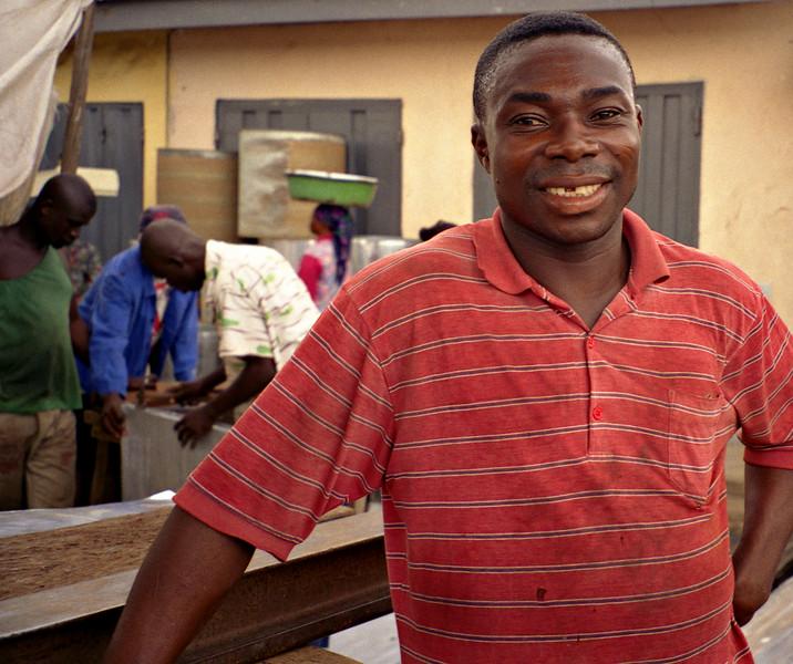 Man, Kumasi, Ghana