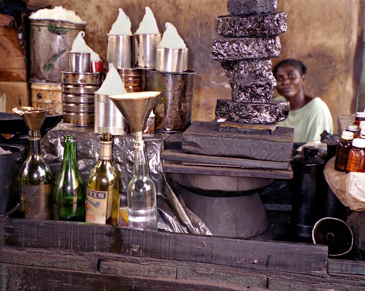 Goods for sale, Elmina, Ghana