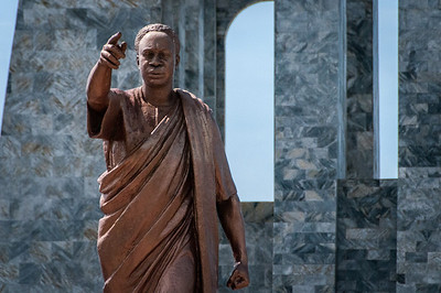 Kwame Nkrumah Mausoleum in Accra, Ghana
